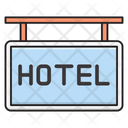 Hotel Board Nameplate Icon