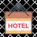 Hotel Board Hotel Tag Icon