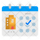 Hotel Booking Date Icon