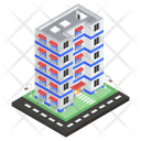Hotel Building Motel Inn Icon