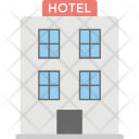 Hotel Building Motel Icon