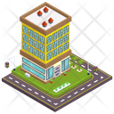 Motel Hotel Accommodation Icon
