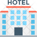 Hotel Building Guest Icon