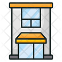 Hotel Building Vector Icon