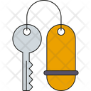 Hotel Key Key Tag Room Key Icon
