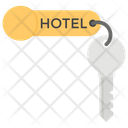Hotel Key House Key Home Security Icon