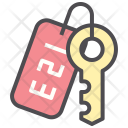 Key Door Security Icon