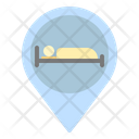 Hotel Pin Place Icon