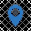 Hotel Location Map Icon