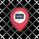Map Location Hotel Icon
