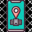 Hotel Location Phone Icon