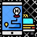 Smartphone Gps Map Icon