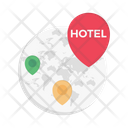 Location Hotel Global Icon