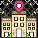 Hotel Location Building Location Location Icon