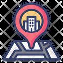 Hotel Location Location Map Icon