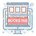 Hotel Reservation House Booking Villa Icon