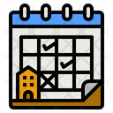 Hotel Reservation Icon