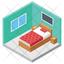 Hotel Room Accomodation Hotel Reservation Icon