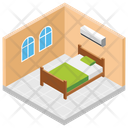 Hotel Room Room Reservation Hotel Booking Icon
