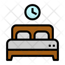 Hotel Motel Booking Icon