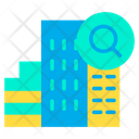 Find Hotel Search Hotel Find Building Icon