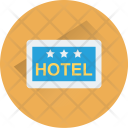 Hotel Sign Hanging Icon