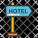 Hotel Signage Icon