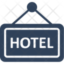 Hotel Sign Board Hanging Board Signboard Icon