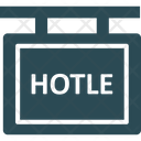 Hanging Sign Hotel Hotel Signboard Icon
