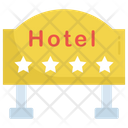 Hanging Board Hotel Info Board Icon