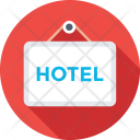 Hotel Signboard Icon