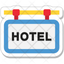 Hotel Sign Signboard Icon