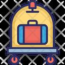 Trolley Luggage Trolley Hotel Trolley Icon