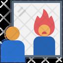 Hothead Mirror Reflex Icon