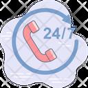 Customer Support Hotline Icon