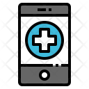 Mobile Call Emergency Icon
