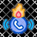 Help Hotline Telemarketing Icon
