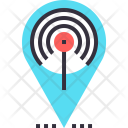 Hotspot Internet Signal Icon