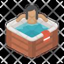 Bath Chill Hot Tub Icon