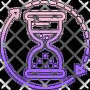 Hour Glass Countdown Hourglass Icon