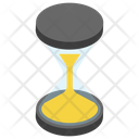 Hourglass Vintage Time Machine Loading Process Icon
