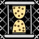 Timepiece Hourglass Metronome Icon
