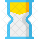 Hourglass Time Clock Icon