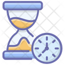 Hourglass Sandglass Timepiece Icon