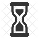 Deadline Hourglass Time Management Icon