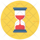 Vintage Timer Hourglass Sand Clock Icon