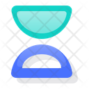 Hourglass Timer Clock Icon