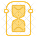 Hourglass Ecology Nature Icon