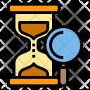 Timer Data Work Icon