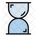 Hourglas Business Filled Icon